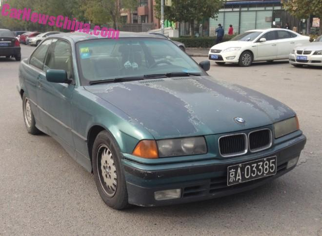 Spotted in China: E36 BMW 325is Coupe
