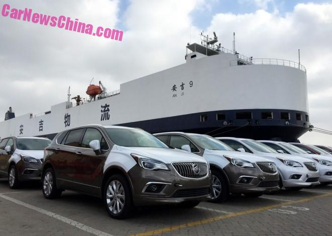 The China-made Buick Envision SUV is OFFICIALLY on its way to America