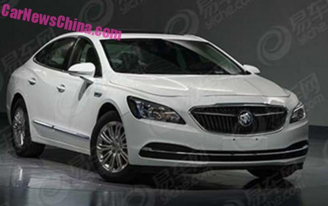 Spy Shots: 2017 Buick LaCrosse is Naked in China