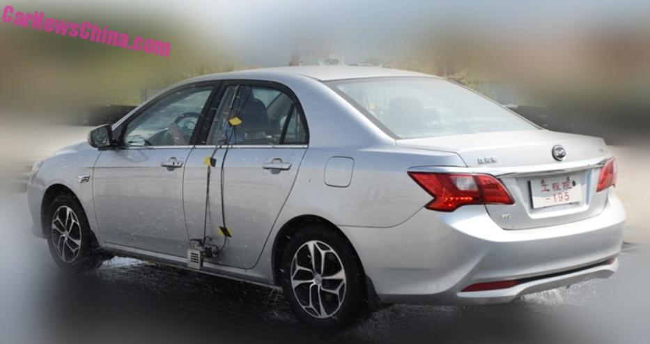 Spy Shots: facelift for the BYD F3 in China - CarNewsChina.com