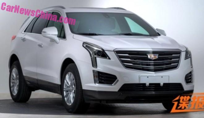 Spy Shots: Cadillac XT5 SUV is Naked in China