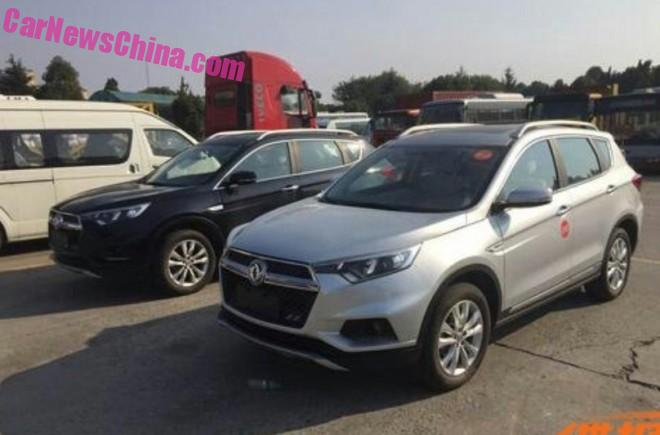 Spy Shots: Dongfeng Fengdu MX5 SUV for China
