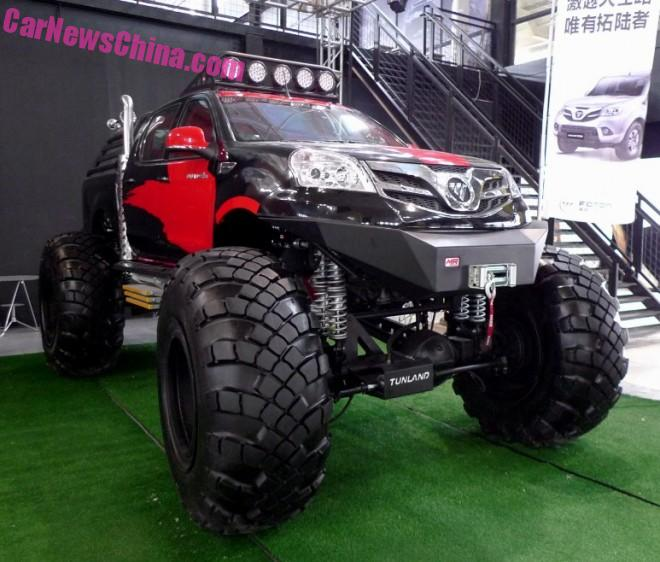 Foton Tunland is a Monster Truck in China