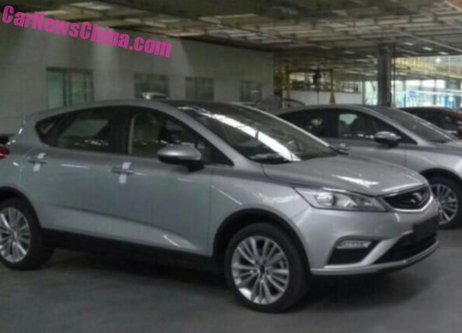 Spy Shots: Geely Emgrand S7 is Almost Ready for China