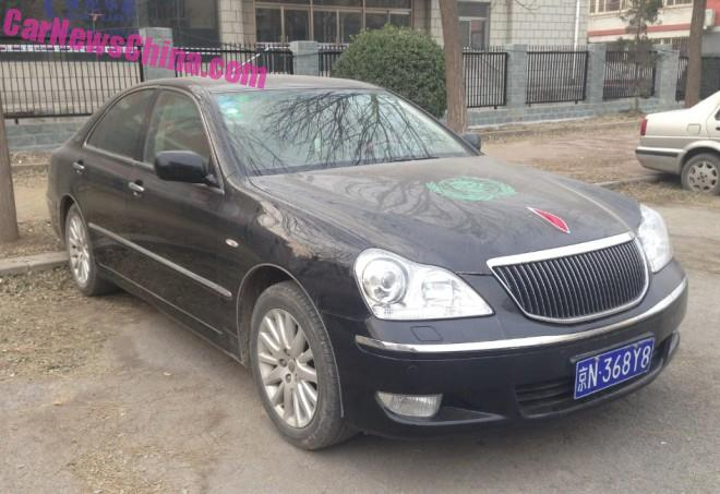 Spotted in China: Hongqi HQ300 sedan
