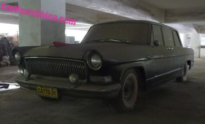 Two rare Hongqi limousines found in Beijing; the Second Car