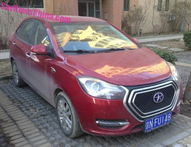 The JAC iEV5 is a cheap electric car for China
