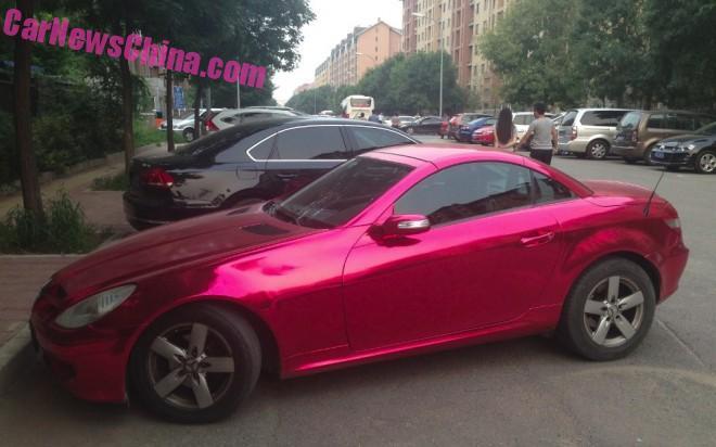 mercedes-pink-china-2
