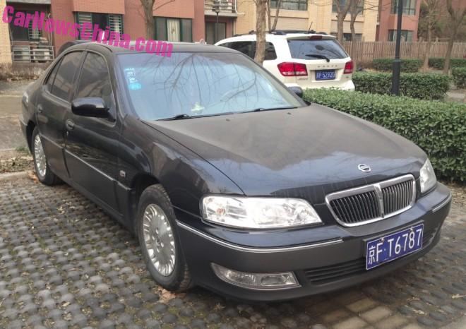 Spotted in China: Nissan Bluebird EQ 7200-III