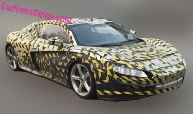 Spy Shots: Qiantu K50 electric supercar seen Testing in China
