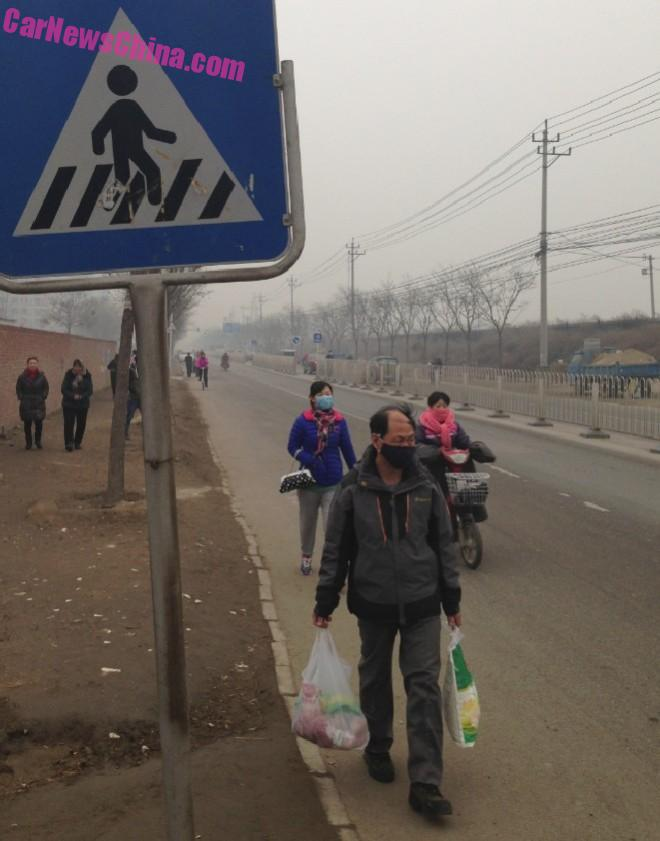 Red Alert in Beijing - Time for a Walk