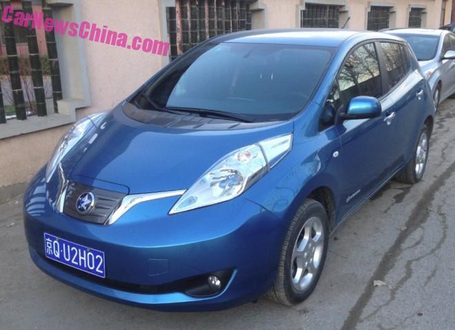 Eye to Eye with the Venucia Chengfeng E30 EV in China