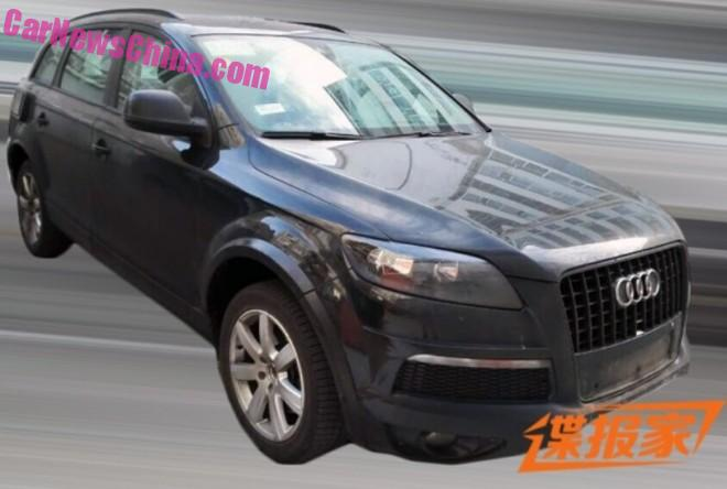 Spy Shots: Volkswagen CrossBlue SUV testing in China