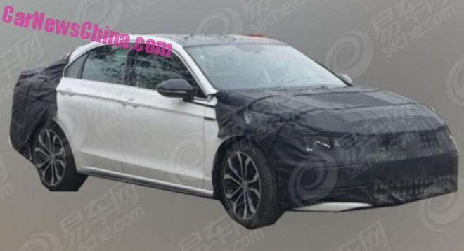 Spy Shots: Volkswagen Lamando GTS testing in China