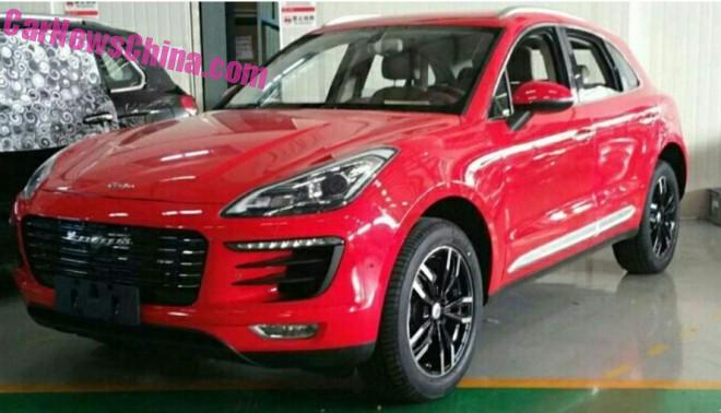 The Zotye T700 is Really a Perfect Porsche Macan clone
