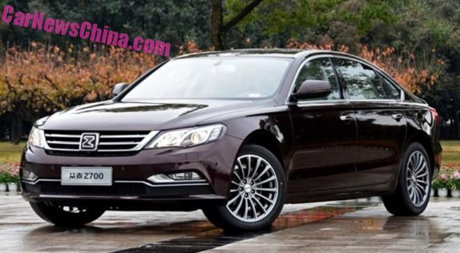 Zotye Z700 sedan hits the Chinese car market