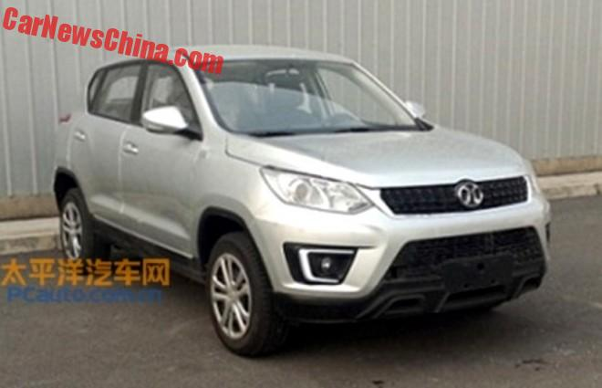 Spy Shots: Beijing Auto Senova X35 SUV is Almost Ready for China
