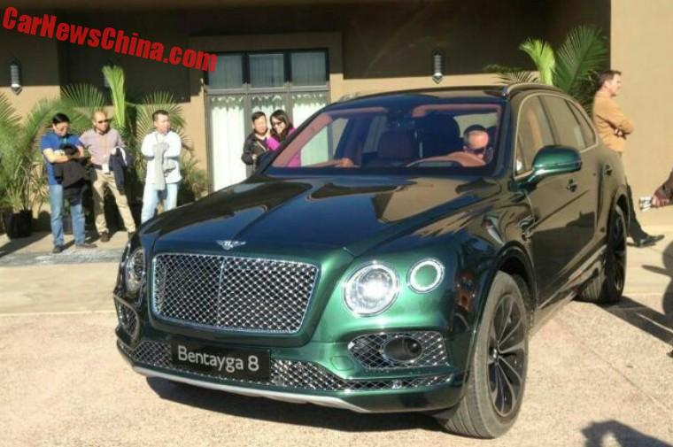 The Bentley Bentayga Is A Beast In Purple Carnewschina Com