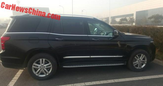 Beijing Auto BJ90 is Getting Ready for the Chinese car market