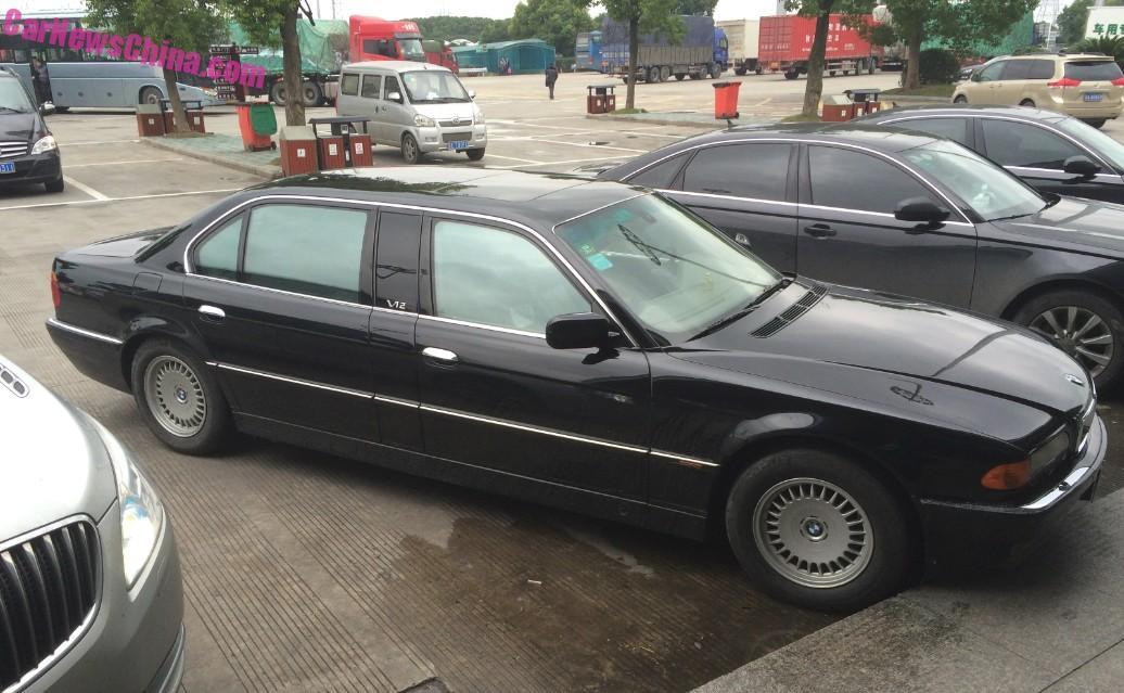 Spotted in China: E38 BMW L7 limousine - CarNewsChina.com