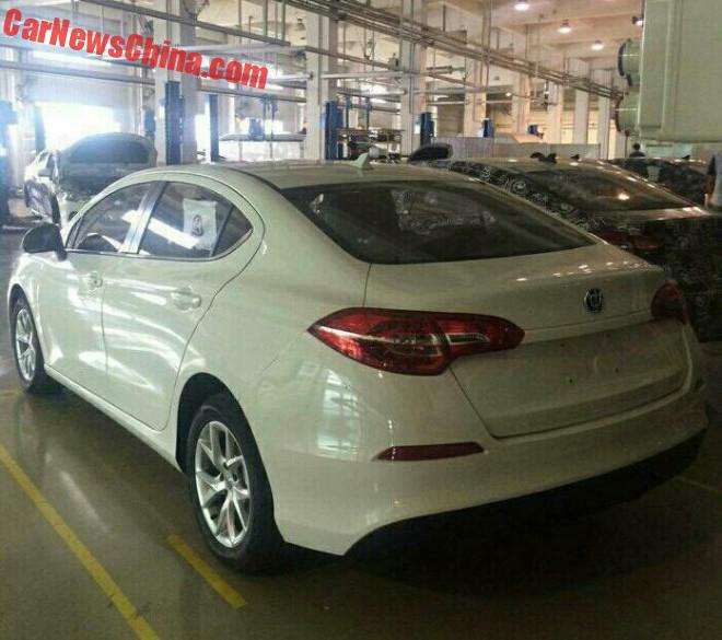 Spy Shots: Brilliance F20 is Getting Ready for the Chinese auto market