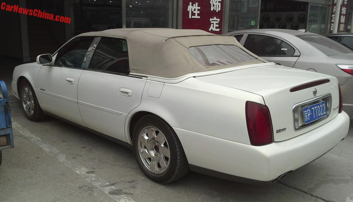 2016 Cadillac Convertible >> Spotted In China Cadillac Deville Four Door Convertible