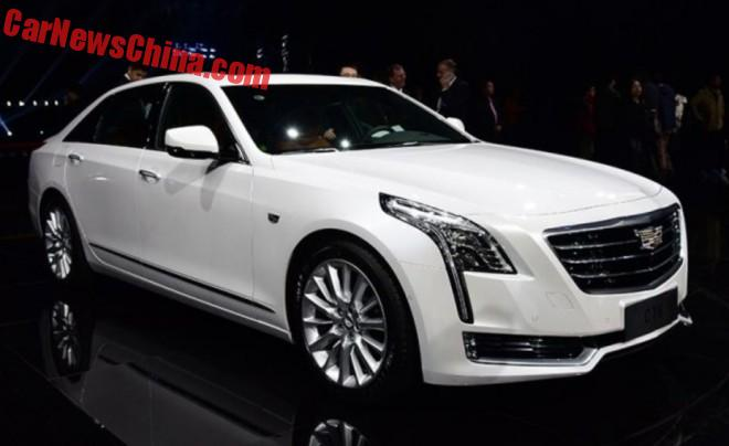 Cadillac CT6 launched on the Chinese car market