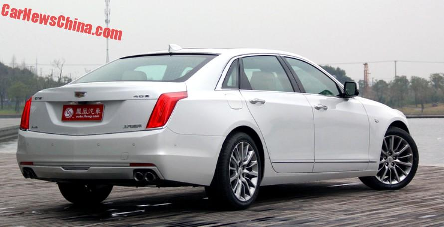 Cadillac Ct6 It Is China 1