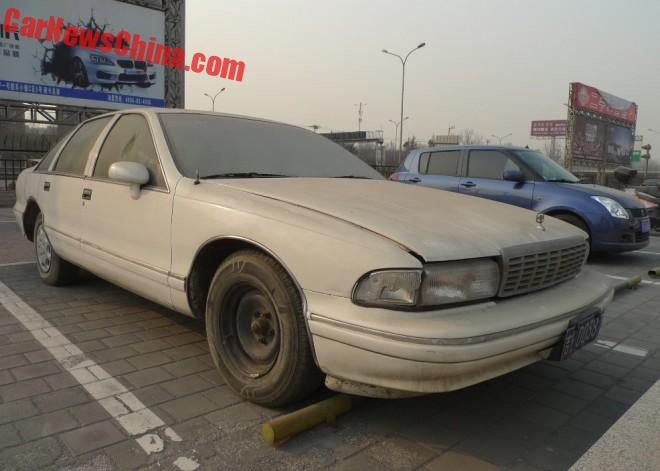Spotted in China: Chevrolet Caprice Classic