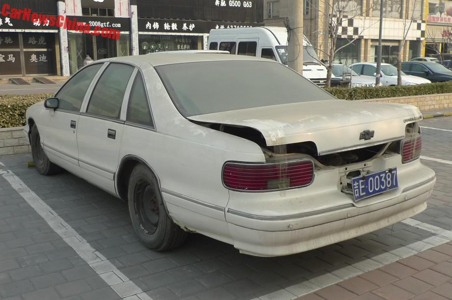 Spotted in China: Chevrolet Caprice Classic - CarNewsChina com