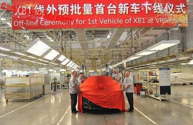 Pre-production of the new Citroen C6 has Started in China