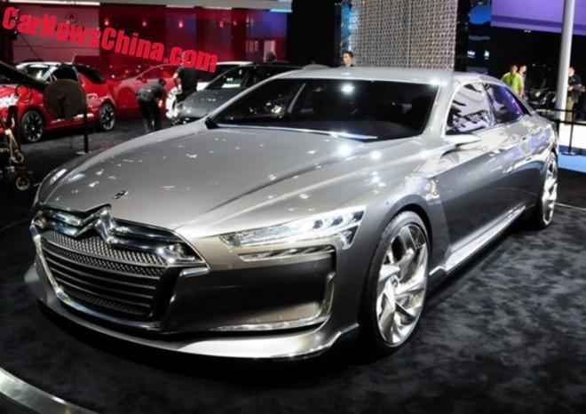 pre production of the new citroen c6 has started in china. Black Bedroom Furniture Sets. Home Design Ideas