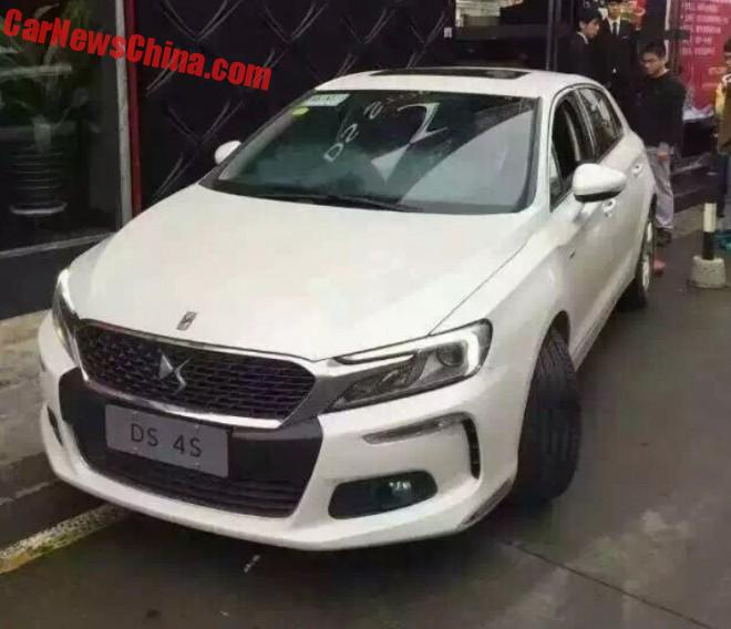 Spy Shots: Citroen DS 4S is Ready for the Chinese auto market