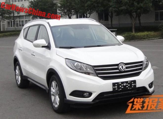 Spy Shots: the Dongfeng Fengguang 580 SUV for China