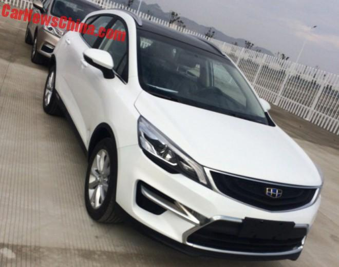 Spy Shots: Geely Emgrand S7 goes for a Different Nose