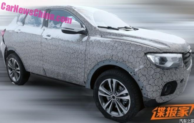 Spy Shots: Haval Concept B SUV testing in China
