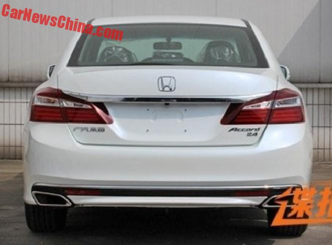 Perfect Honda Accord China 4