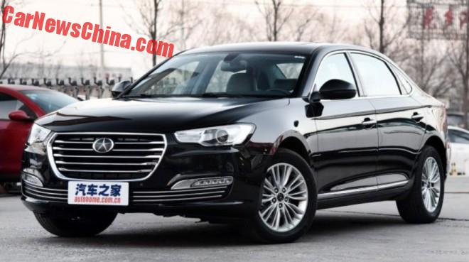 This is the JAC Refine A60 sedan for China