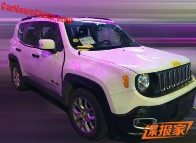 Spy Shots: China-made Jeep Renegade is Almost Ready for the Chinese car market