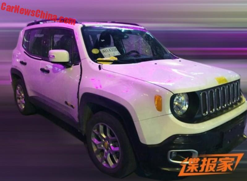 Spy Shots China Made Jeep Renegade Is Almost Ready For The Chinese Car Market