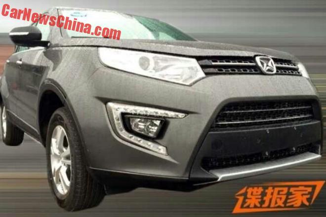 Spy Shots: Jiangling Yusheng S330 SUV testing in China