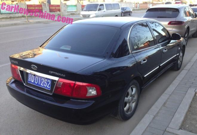Spotted In China First Generation Kia Optima
