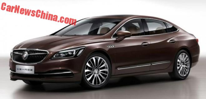 New Buick LaCrosse to launch in China in April