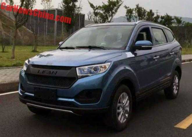 Spy Shots: Lifan Maiwei SUV for China