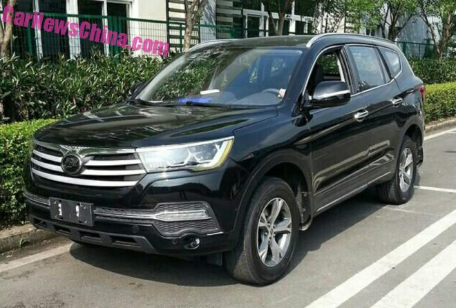 Spy Shots: Lifan X80 SUV is Almost Ready for the Chinese auto market