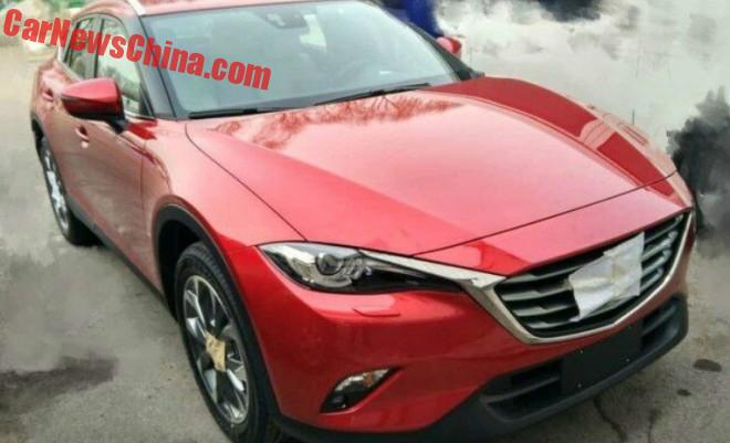 New Spy Shots of the Mazda CX-4 in China