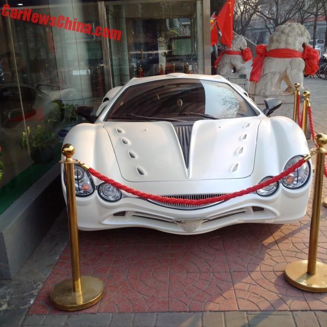 Spotted in China: the Mitsuoka Orochi 3.3 Supercharged