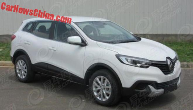 Spy Shots: China-made Renault Kadjar is Ready for Launch