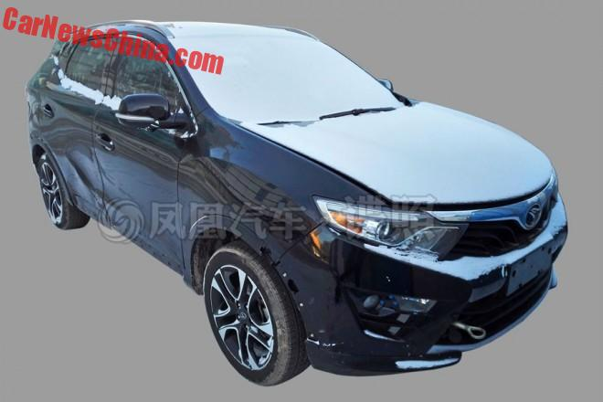 Spy Shots: SouEeast DX3 SUV testing in China