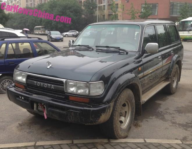 Spotted in China: J80 Toyota Land Cruiser